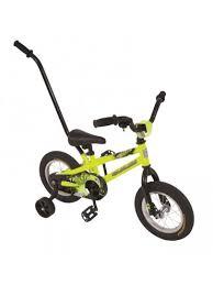 12 30cm colorado tracker boys bike neon yellow mr toys toyworld