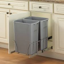 Top 30 First Rate Kitchen Recycling Bins Stainless Trash Can Double