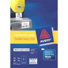 Avery 10 Per Page Labels Template Avery Labels 10 Per Page Template Durable Heavy Duty Pack