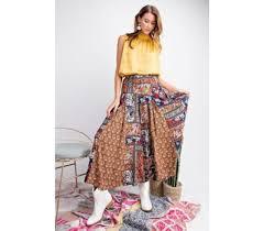 Pants In Morocco Wide Leg Pants In Rust