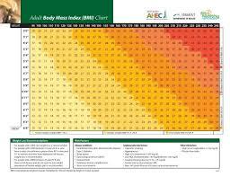 Adult Body Mass Index Bmi Chart