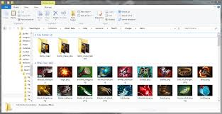 dota 2 enhanced item icons radiant dire with mana cost treads