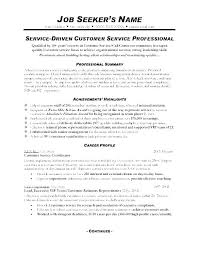 Exceptional Resume Examples Resumes For Customer Service Amazing Resume Good Exceptional