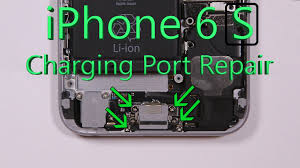 iphone 6s charging port repair shown in 4 minute fix