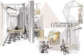 Interior Design Portfolio Ideas interior design drawing by amelia williams portfolio examplesportfolio