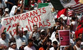 Resultado de imagem para A relação entre crime e imigração nosEUA