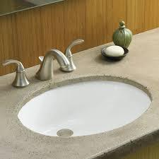 undermount bathroom sinks. caxton ceramic oval undermount bathroom sink with overflow sinks k