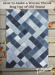 easy to follow free pattern for using recycled denim blue jeans to make a