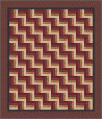 Rail Fence Bed Quilt Pattern & Easy Rail Fence Bed Quilt Pattern Adamdwight.com
