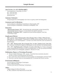 Technical Resume Examples Cool X Ray Tech Resume Sample X Ray Tech Resumes Sample X Ray Tech