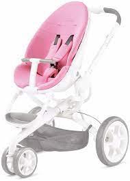 quinny moodd seat cushion pink precious