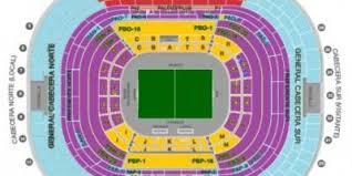 Azteca Stadium Map Estadio Azteca Seating Map Mexico