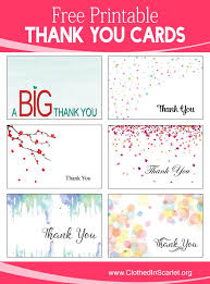 Printable Thank You Cards For Teachers 10 Creative Ways To Thank Your Clients And Customers Free