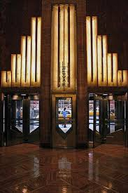 lobby of the chrysler building art deco office building