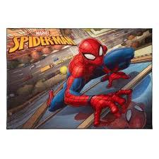 spider man city multi colored 5 ft x 7 ft indoor juvenile area