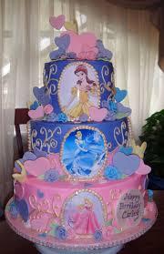 Disney Princess Birthday Cakes doulacindy