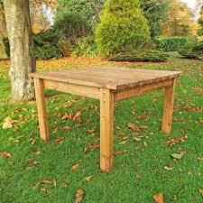 deluxe scandinavian redwood square coffee table garden furniture zoom image