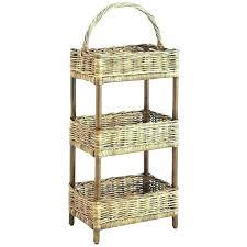 3 tier bathroom storage stand three basket fruit bowl tiered image of rustic