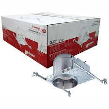 Ic Recessed Lights Commercial Electric 6 In Aluminum New Construction Ic Recessed Airtight Housing 6 Pack