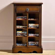 Cd Storage Furniture Storage Case Oak Shelves Large Storage