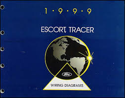 1999 escort and zx 2 and tracer wiring diagram manual original Mercury Outboard Wiring Schematic Diagram 1984 Mercury Tracer Wiring Diagram #27