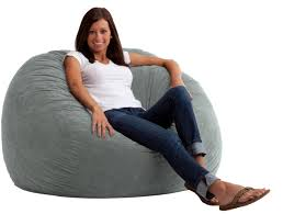pillow chair. fuf media lounger foam filled large pillow kids room dorm gaming chair bedroom h