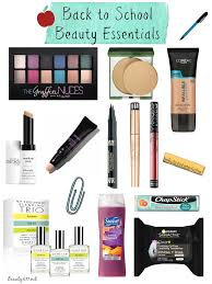 back to beauty essentials 2017 back to makeup