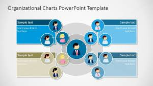 Organization Chart Xls Circular Organizational Chart For Powerpoint Slidemodel
