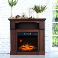 charmglow electric fireplace stove heater freestanding full frame wood mantle 2