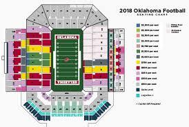Oklahoma Memorial Stadium Seating Chart Ou Football Stadium Detailed Seating Chart Best Picture Of