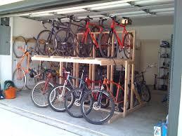 Image of: Nice Bike Garage