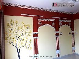 jd art design red arches 3d wall art