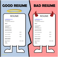 Unique Good And Bad Resume Examples Good And Bad Resume Examples