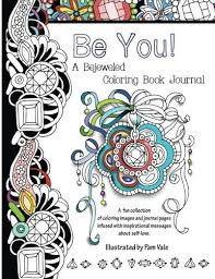 a bejeweled coloring book journal by pam vale