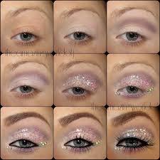 eye makeup cute glitter
