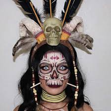 witch doctor makeup and costume idea