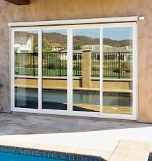 images of electric folding patio doors