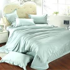 comforter bedding sets king luxury size set queen light mint green duvet cover double quilt quilted