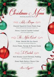 free christmas dinner invitations free xmas menu templates free xmas menu templates christmas menu