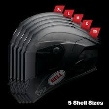 Bell Race Star Flex Dlx Solid Helmet Matte Black Sportbike