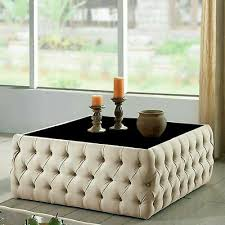 square coffee table chesterfield