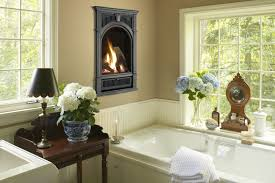 gas fireplace in bathroom aspen fireplace columbus ohio