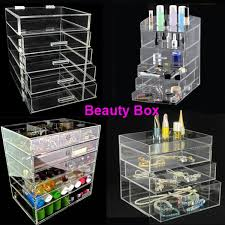 alibaba whole makeup organizer nail polish holder storager clear plastic cosmetic stacking box drawer