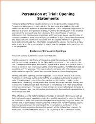 Opening Statement Template Cute Examples Of Opening Statements 24 Statement Defense Synonym 1
