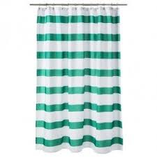 teal striped shower curtain. striped shower curtain teal