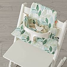 modern white stokke tripp trapp bundle zukababy with fl straps harness highchair cushion furniture on sculpted ivory laminate wood flooring