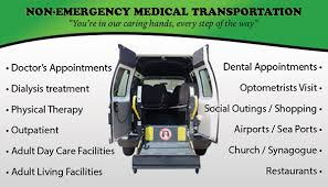 Non Emergency Transport Business Cards Tight Designs