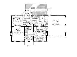 georgian house plan first floor plans more early american