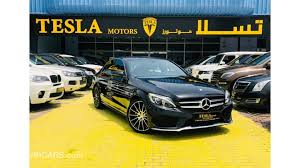 mercedes benz c 200 amg 2016 warranty 30 03 2021 or 150 000 km only 2 457 dhs monthly 0 down payment aed 118 000 black 2016