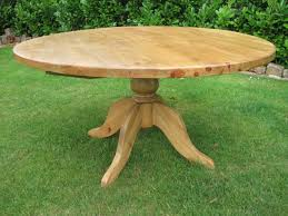 true round pine kitchen table 800x600